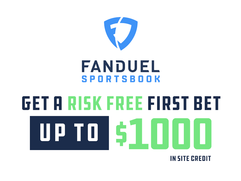 FanDuel current promotion $1000 risk free bet